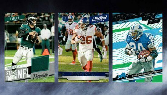 Devin Singletary XTRA Points 2019 Prestige Football Rookie Green