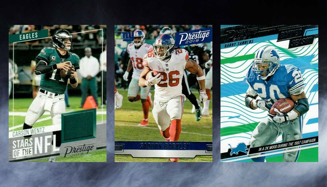 0df0ba91 2019 Panini Prestige Football Checklist, Team Set Lists, Release Date