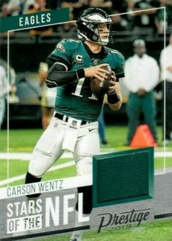 2019 Panini Prestige Football Stars of the NFL Carson Wentz