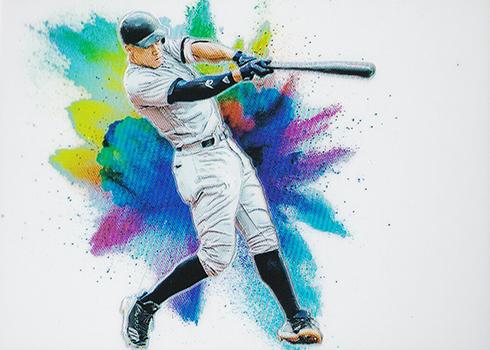 2019 Panini Prizm Baseball Color Blast Aaron Judge