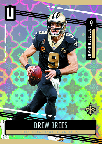 2019 Panini Unparalleled Football Base Galactic