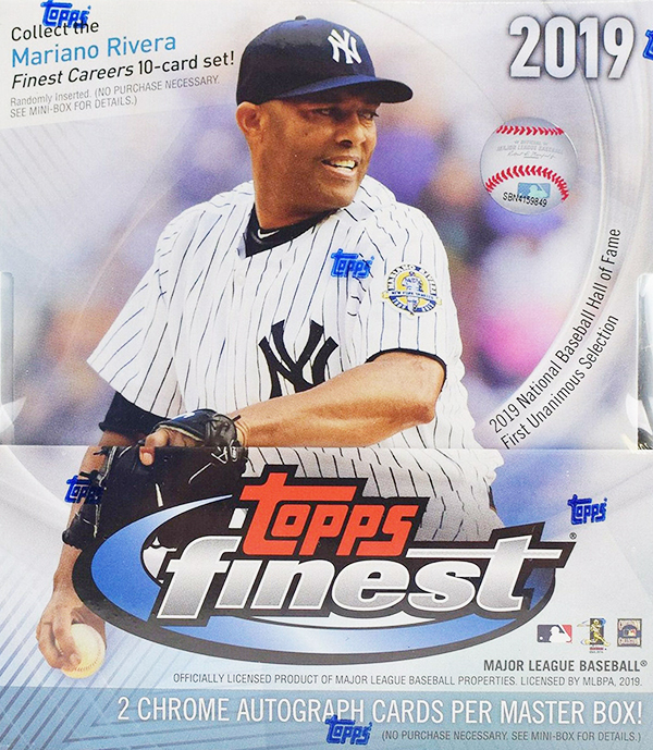 2019 Topps Finest Baseball Cards Checklist Team Set Lists Release Date