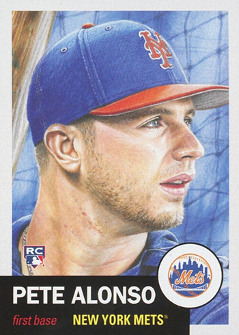 2019 Topps Living Set Pete Alonso