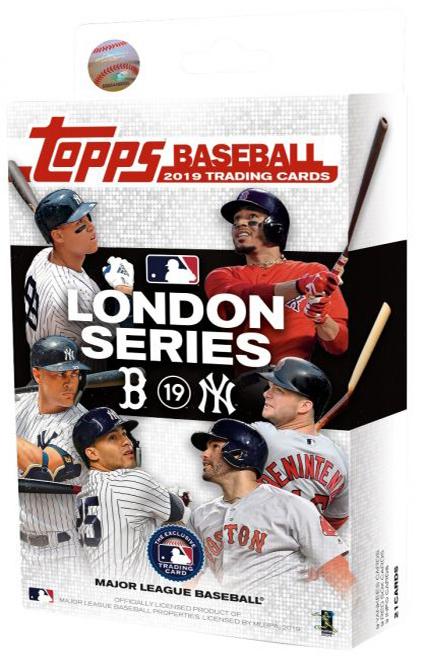 2019 Topps London Series Baseball Box Set