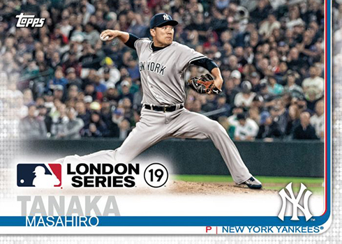 2019 Topps London Series Baseball Details Checklist Info