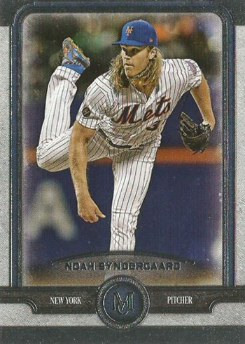 2019 Topps Museum Collection Baesball Noah Syndergaard