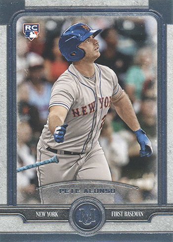 2019 Topps Museum Collection Pete Alonso Rookie Card