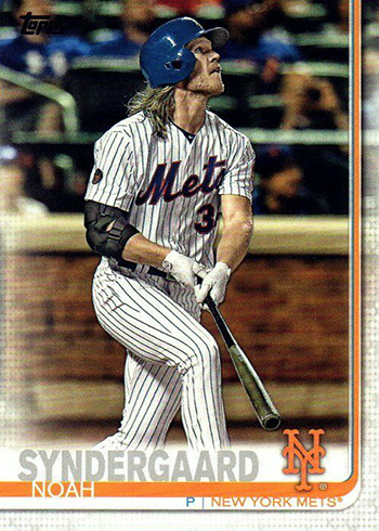 2019 Topps Series 2 Baseball Variations Noah Syndergaard
