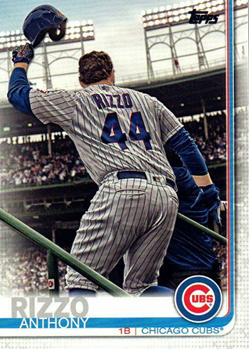 2019 Topps Series 2 Baseball Variations Anthony Rizzo