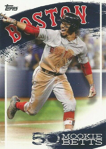2019 Topps Series 2 Baesball Mookie Betts Highlights