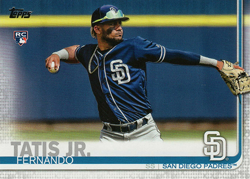 2019 Topps Series 2 Baseball 410 Fernando Tatis Jr