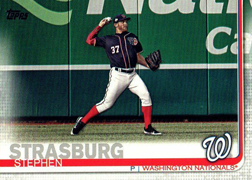 2019 Topps Series 2 Baseball Variations Stephen Strasburg