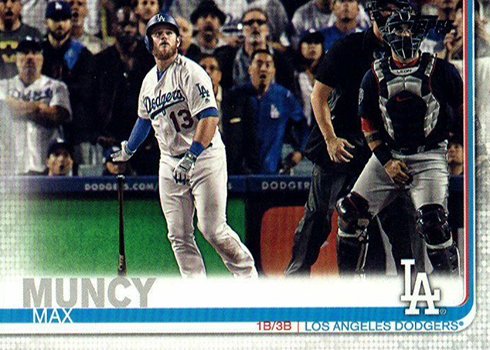 2019 Topps Series 2 Baseball Variations Max Muncy