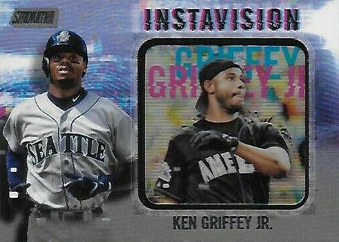 2019 Topps Stadium Club Baseball Instavision Ken Griffey jr