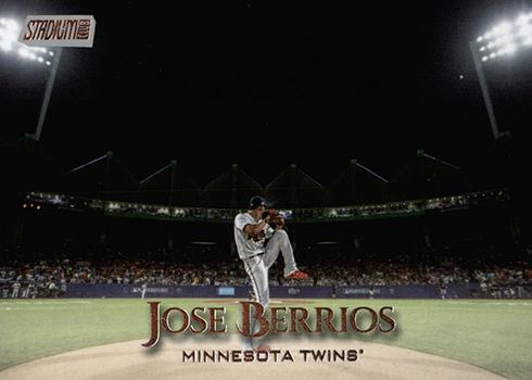 2019 Topps Stadium Club Baseball Jose Berrios