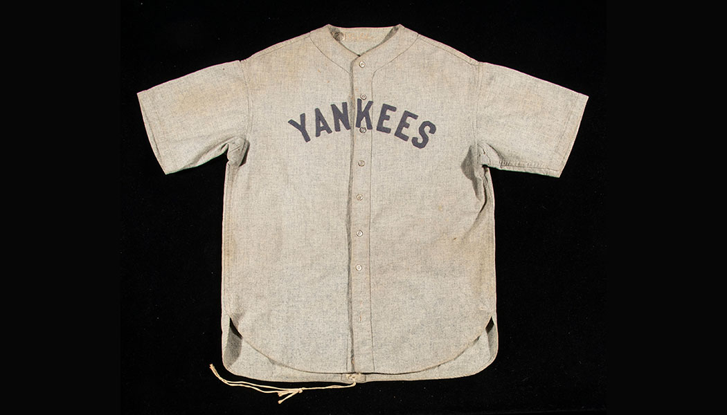competitive price f6556 11899 Game-Used Babe Ruth Jersey Sets World Record with $5.64 ...