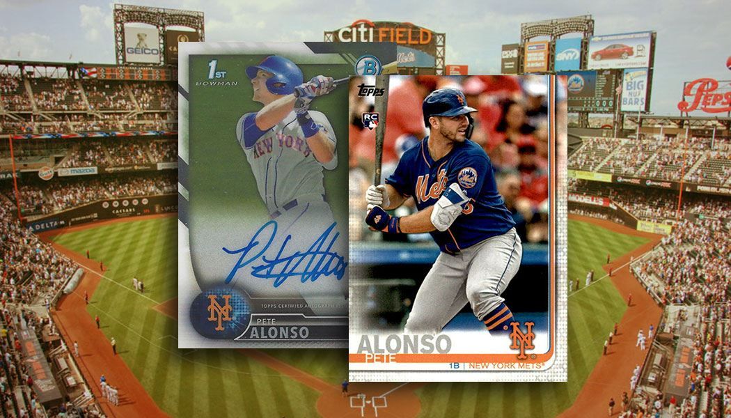 Pete Alonso Rookie Card And Prospect Card Guide