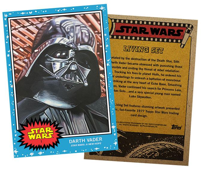 Star Wars Living Set 1 Darth Vader
