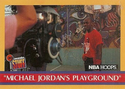 1990-91 Hoops Michael Jordan 382 B