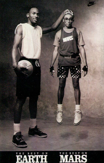 1991 Nike Michael Jordan Spike Lee 1 Earth Mars