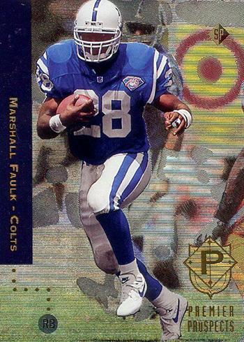 1994 SP Marshall Faulk RC