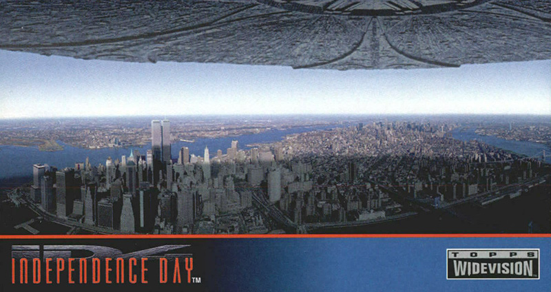 1996 Topps Independence Day Widevision 20