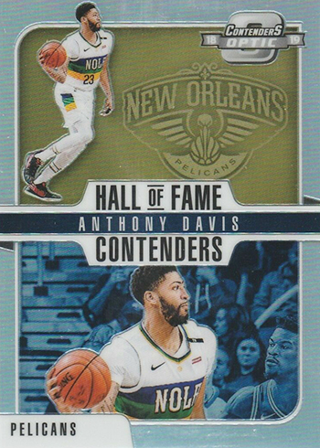 2018-19 Panini Contenders Optic Basketball Hall of Fame Contenders Anthony Davis