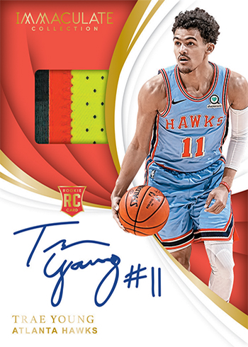 2018-19 Panini Immaculate Collection Basketball Rookie Patch Autograph