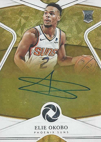 2018-19 Panini Opulence Basketball Rookie Autographs Elie Okobo