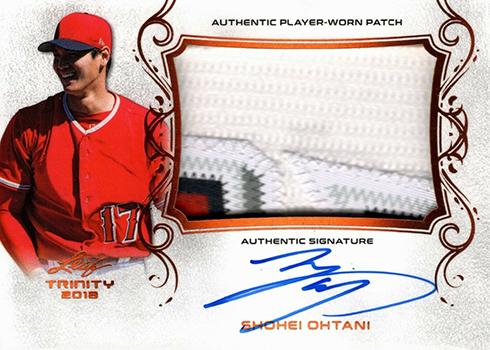 2018 Leaf Trinity Baseball Shohei Ohtani