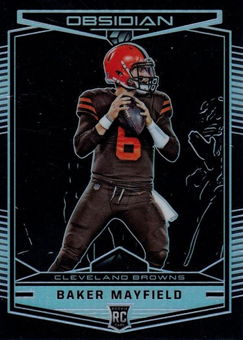 2018 Panini Obsidian Baker Mayfield RC