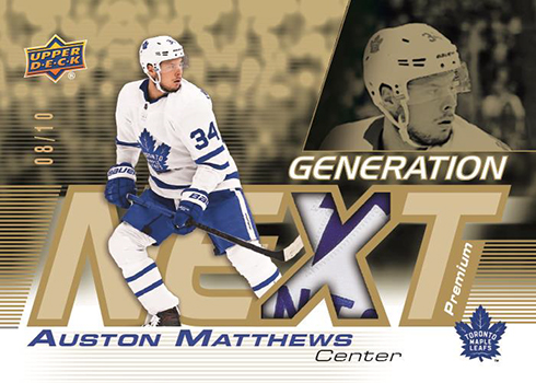 2019-20 Upper Deck Series 1 Hockey Generation Next Patch