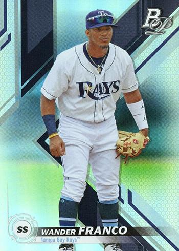 2019 Bowman Platinum Baseball Top Prospects Wander Franco