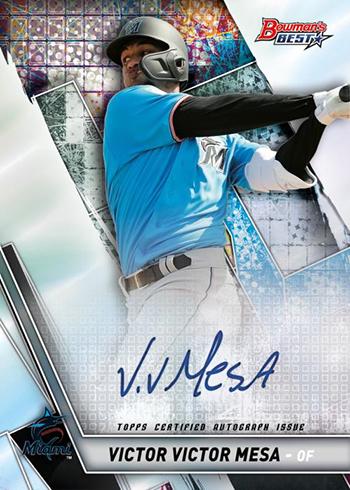 2019 Bowmans Best #TP-19 Sixto Sanchez Miami Marlins Baseball Card