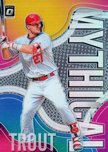 2019 Donruss Optic Baseball Mythical Holo Mike Trout