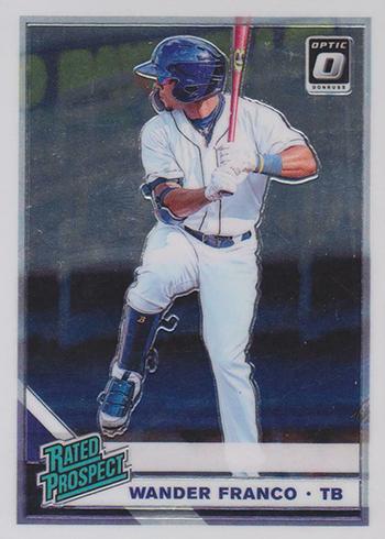 2019 Donruss Optic Baseball Rated Prospect Wander Franco