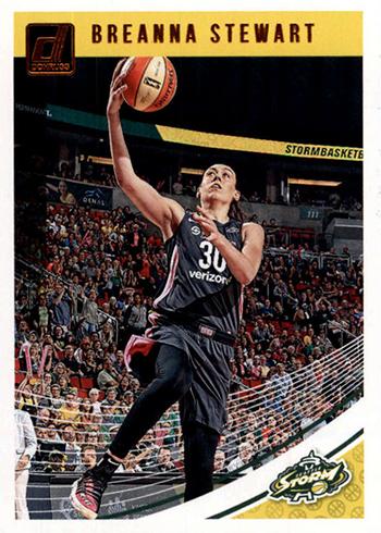2019 Donruss WNBA Breanna Stewart