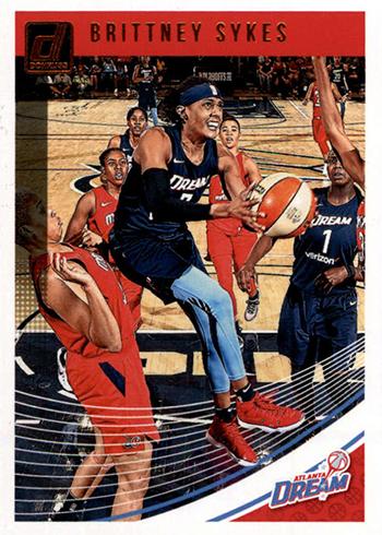2019 Donruss WNBA Brittney Sykes