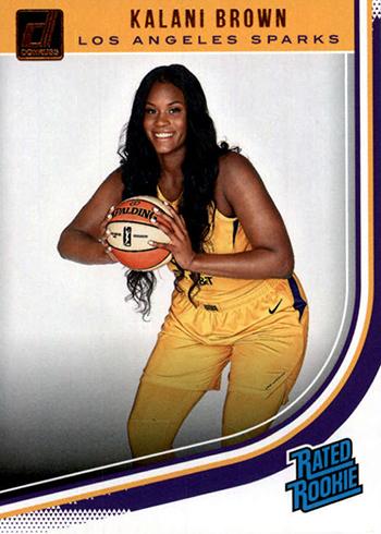 2019 Donruss WNBA Kalani Brown