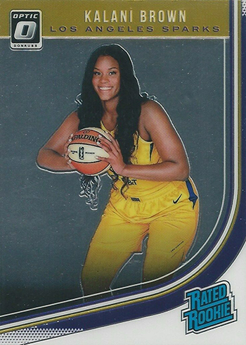 2019 Donruss WNBA Optic Kalani Brown