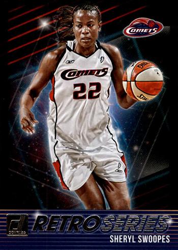 2019 Donruss WNBA Retro Series Sheryl Swoopes