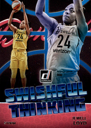 2019 Donruss WNBA Swishful Thinking