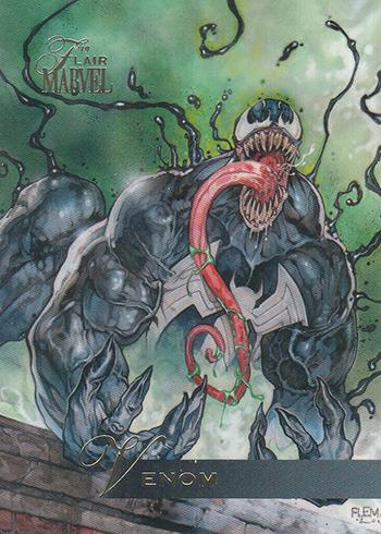2019 Flair Marvel 80 Venom