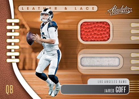 2019 Panini Absolute Football Leather and Lace