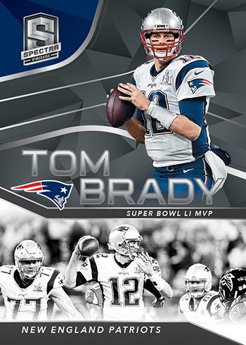 2019 Panini Spectra Football Tom Brady Tribute
