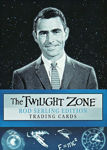 2019 RIttenhouse Twilight Zone Rod Serling Edition Promo Card P1
