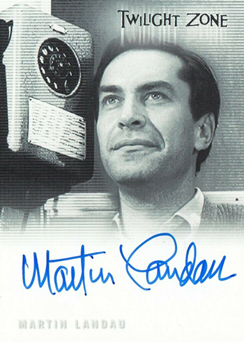 2019 Rittenhouse Twilight Zone Rod Serling Edition Autographs A152-B Martin Landau