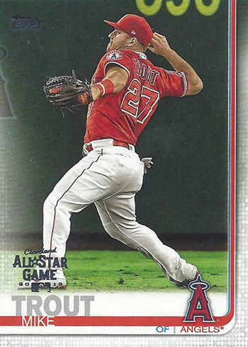 2019 Topps Baseball Factory Sets - All-Star Insert Mike Trout 1 of 5