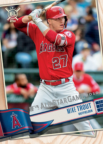 2019 Topps All-Star Game Mike Trout