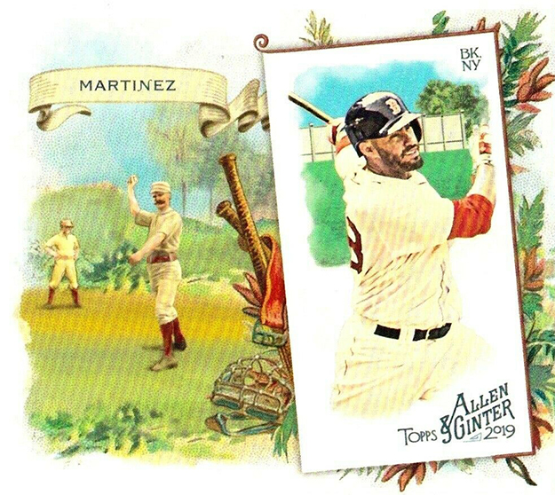2019 Topps Allen and Ginter Baseball N43 Box Loader JD Martinez